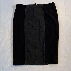 Bison Bisou Stretch Pencil Skirt.Sz. 6